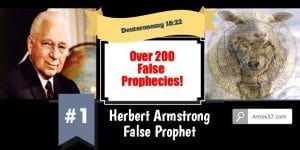 Herbert Armstrong Exposed