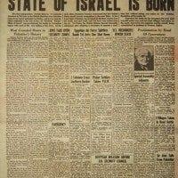 Restoration of Israel-The Sign?