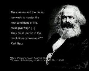 Karl Marx revolution of hatred