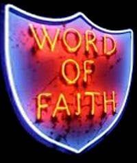 Word of Faith Shield Caution emotional experience ahead