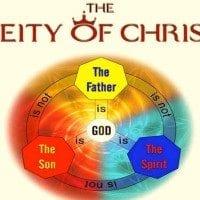 Deity of Christ Holy Spirit Trinity Father God Jesus Son of God