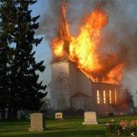 War on Christian Values Church Bruns