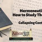 Understanding Error & Hermeneutics Session 03