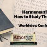 Understanding Error & Hermeneutics Session 05