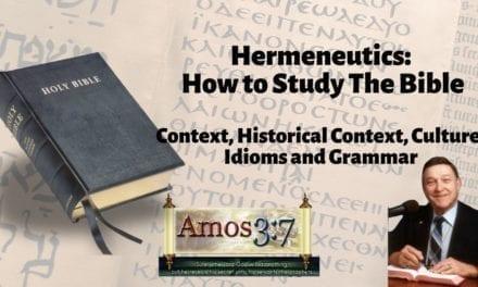 Understanding Error & Hermeneutics Session 01