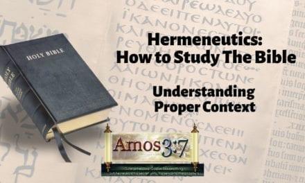 Understanding Error & Hermeneutics Session 04