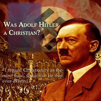 Hitler a Christian? Catholic Antichrist occultist