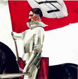 Hitler Catholic  Connections Templar Knights Commissioned Painting
