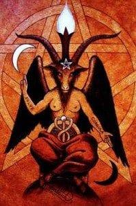 Baphomet So it is above, so it is below Occult