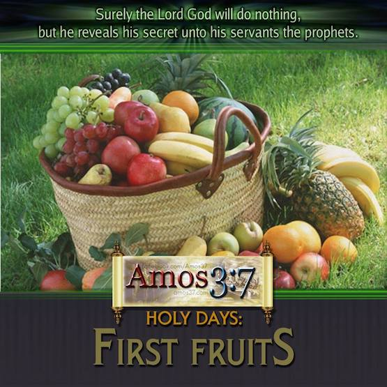 Leviticus 23 Holy Days: First Fruits   Amos37