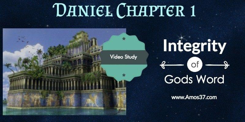 Daniel, Ch. 1, Babylon, Study,