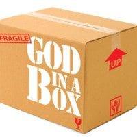 God in a box Church in Box