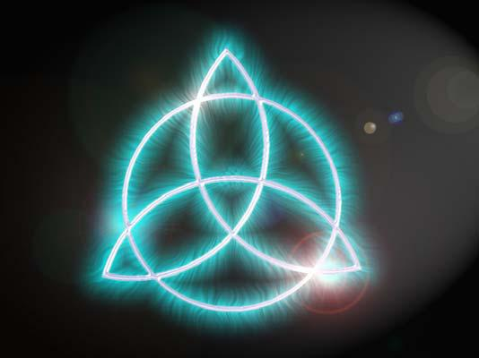Triquetra New Age Symbol Wicca Witchcraft