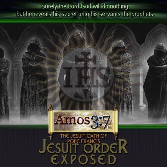 The Jesuit Oath of Pope Francis Jesuit Order Exposed