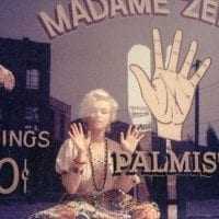 Marily Monroe Occult Palm Reading