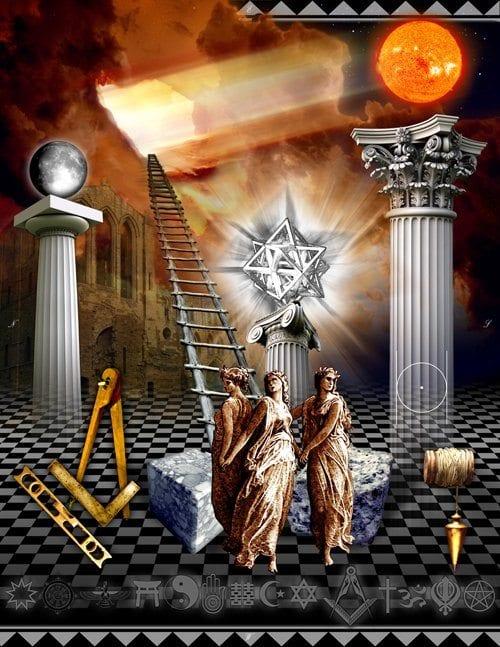 The Enlightenment Era Exposed Masonic Symbols