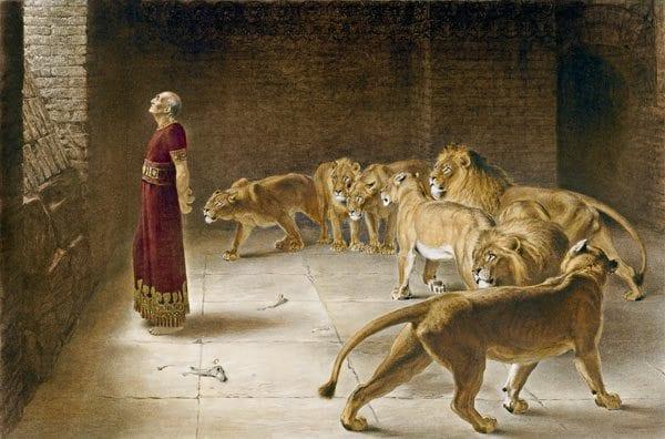 Daniel ch 6 Lions Den Babylon Commentary