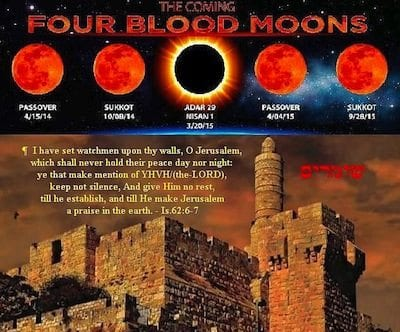 Signs in the Heavens Blood Moons