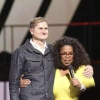 Rob Bell Oprah Winfrey Harpo Studios, George Burns photo