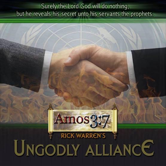 Rick Warren's UNgodly Alliance