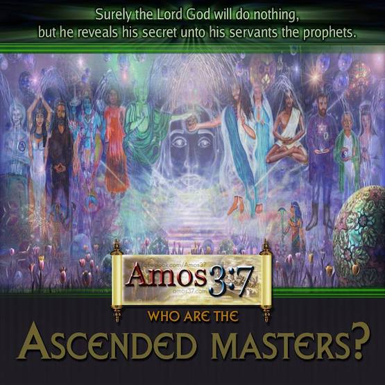 Who Are The Ascended Masters and the Cosmic Christ?